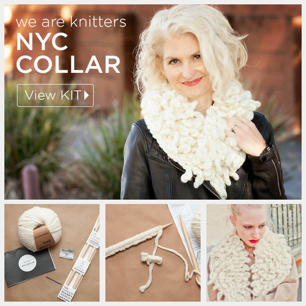 We Are Knitters NYC Collar Kit Review by Trinkets in Bloom