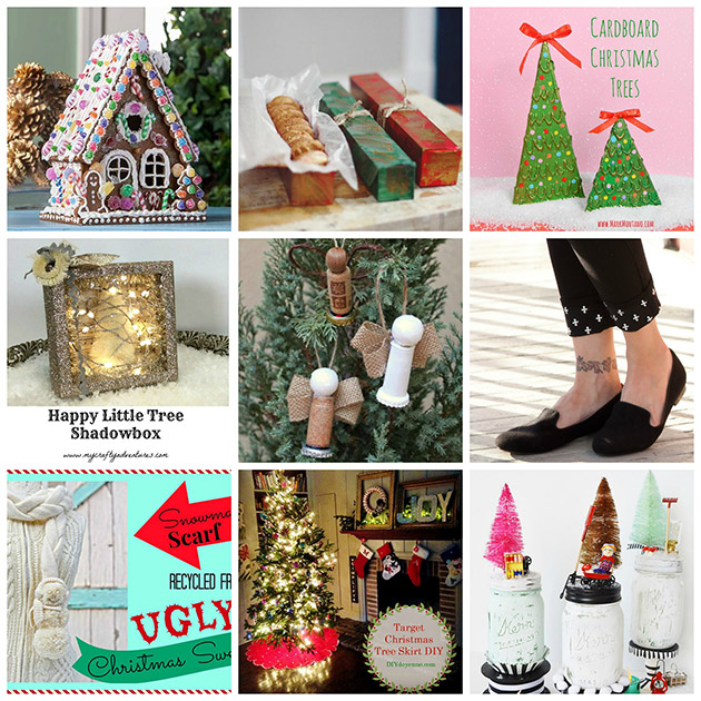 ThursDIY Christmas Cheer Roundup