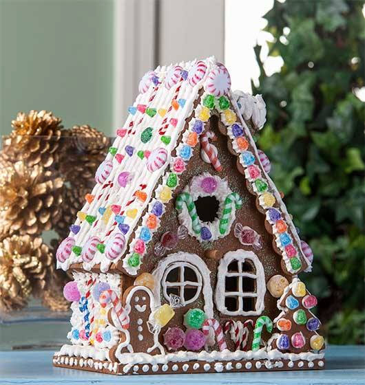 Everlasting Gingerbread House with Collage Clay by Cathie Filian