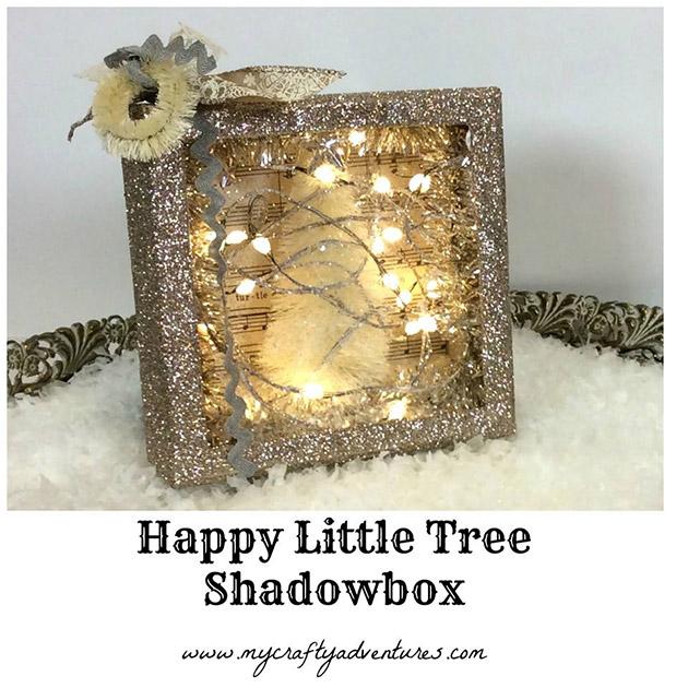 Happy Little Tree Shadowbox by Stephenie Hamen