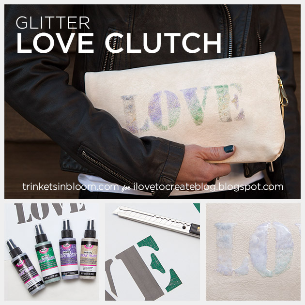 DIY Love Clutch by Trinkets in Bloom