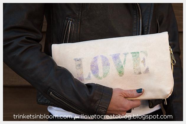 DIY Love Clutch Photo
