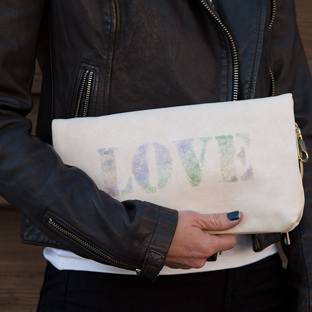 DIY Love Clutch
