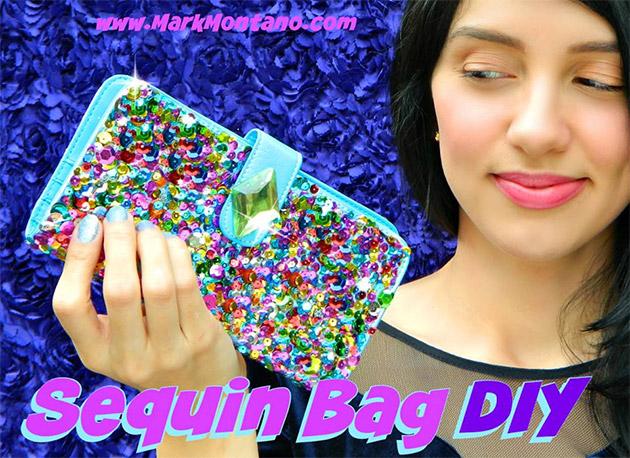 Sequin Bag DIY by Mark Montano