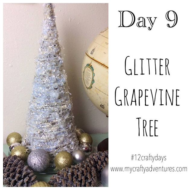 Glitter Grapevine Tree by My Crafty Adventures
