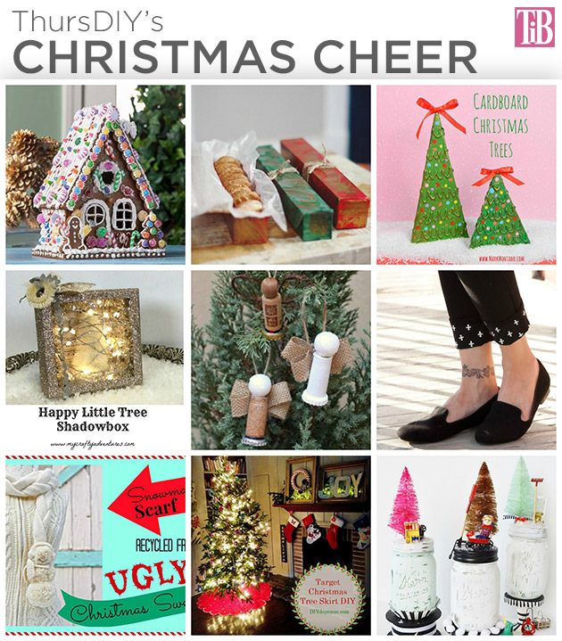 ThursDIY Christmas Cheer Roundup
