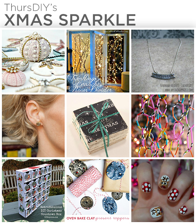 ThursDIY Xmas Sparkle Roundup by Trinkets in Bloom