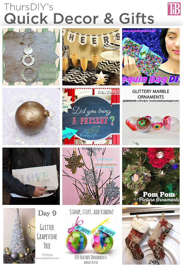 ThursDIY Quick Decor and Gifts by Trinkets in Bloom