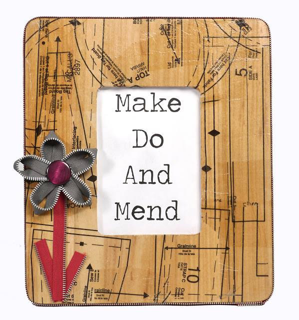 How To Make a Decoupage Frame by Cathie Filian and Steve Piacenza