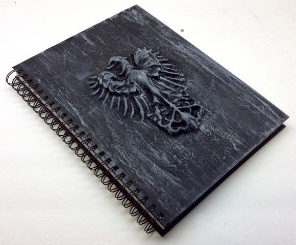 Custom 3D Notebook by Dollar Store Crafts