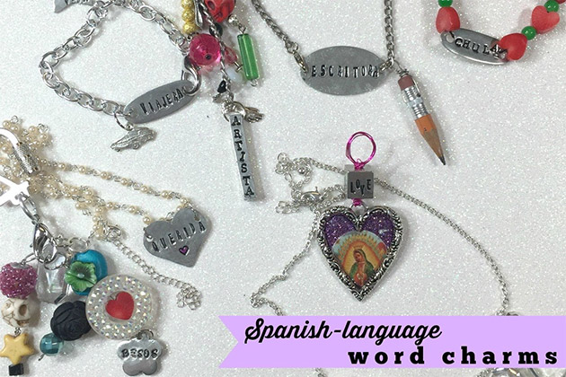 Spanish Language Word Charms by Crafty Chica