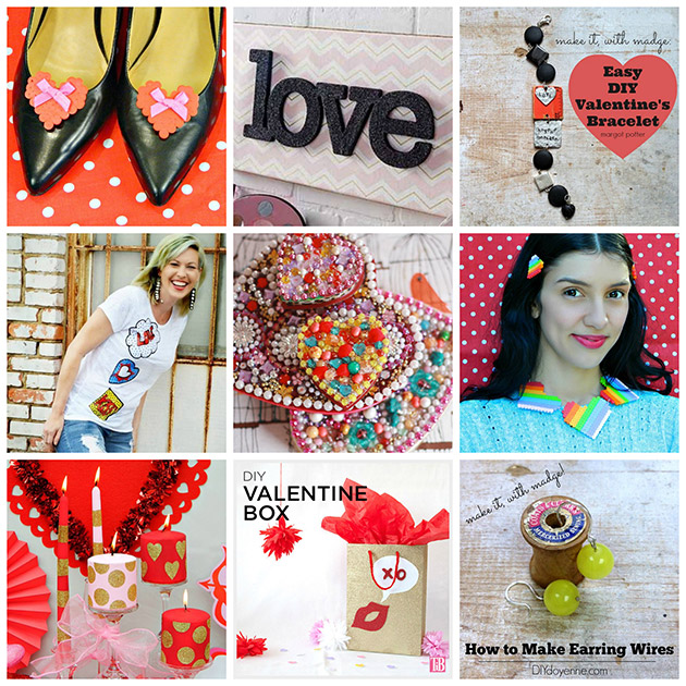 9 Valentine DIYs