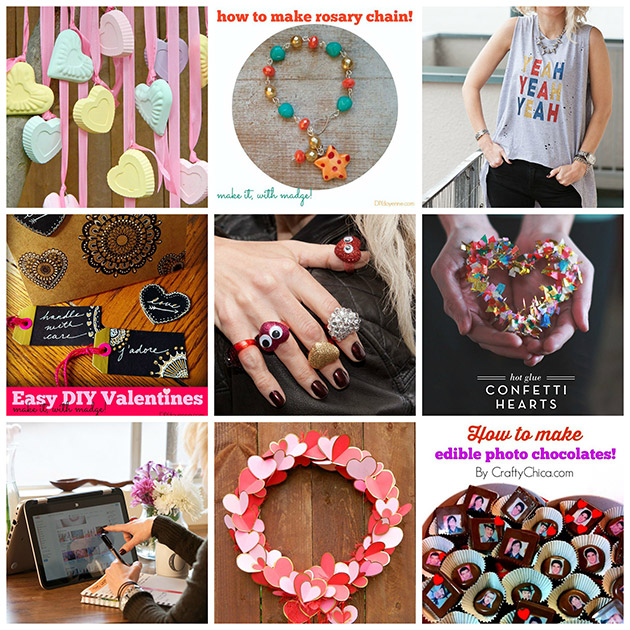 Be My Valentine 9 DIY's
