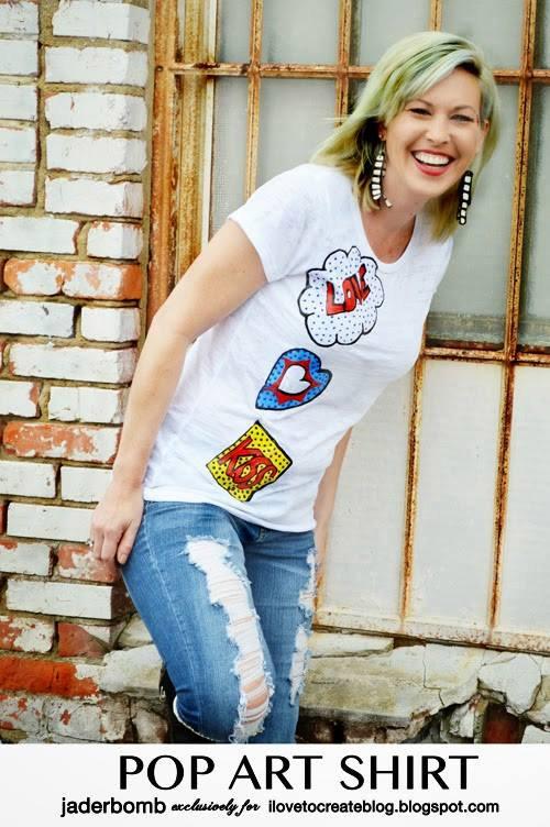 Pop Art Shirt by Jaderbomb