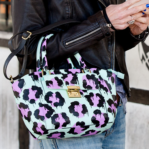 DIY Leopard Painted Bag 630 by Trinkets in Bloom