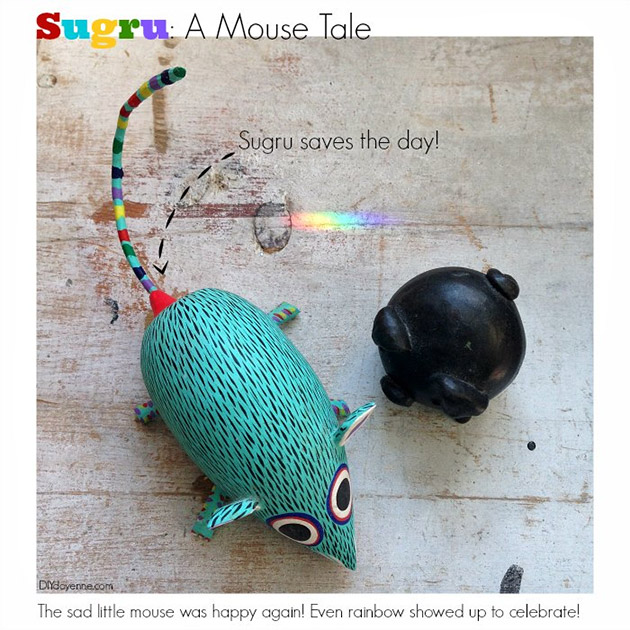 Sugru A Mouse Tale by DIY Doyenne