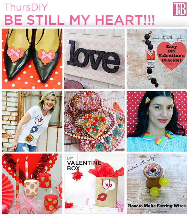 9 DIY's for Valentine's Day