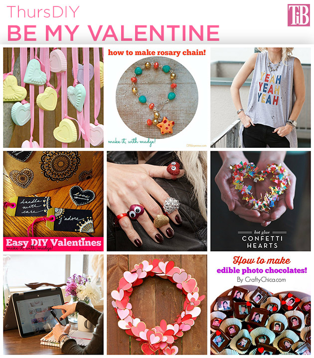 DIY Roundup for Valentines Day on Trinkets in Bloom
