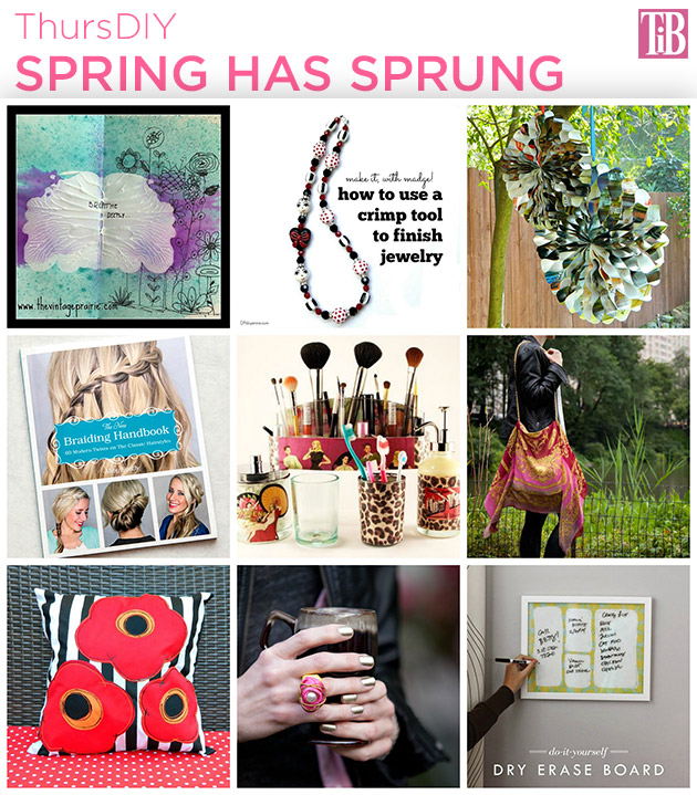 Spring Has Sprung ThursDIY by Trinkets in Bloom