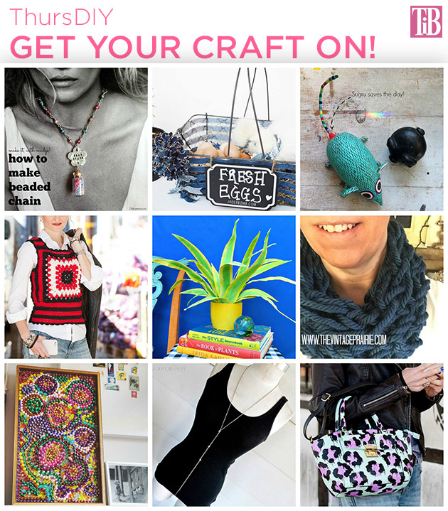 ThursDIY Get your Craft On! DIY Roundup