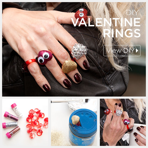 Valentine Heart Rings tutorial by Trinkets in Bloom