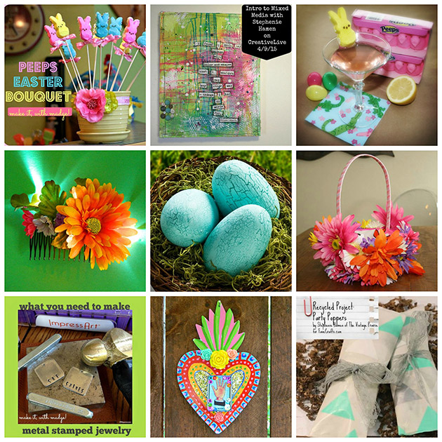 ThursDIY Easter DIY Roundup by Trinkets in Bloom