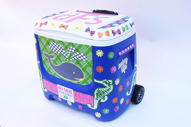 Preppie Party Cooler by Cathie Filian