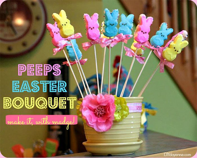 Peeps Easter Bouquet by Margot Potter