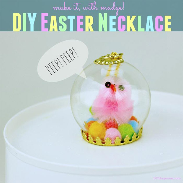 DIY Easter Necklace by Margot Potter