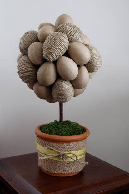 Easter Egg Topiary by Rad Megan