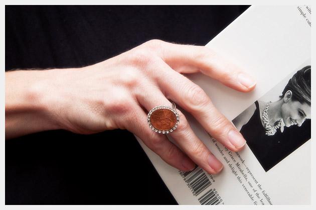 Penny Ring DIY by Trinkets in Bloom