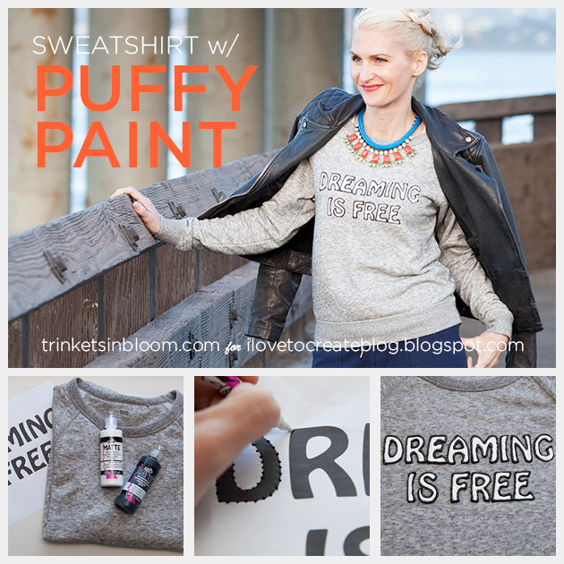 DIY Text Sweatshirt Feature Photo by Trinkets in Bloom