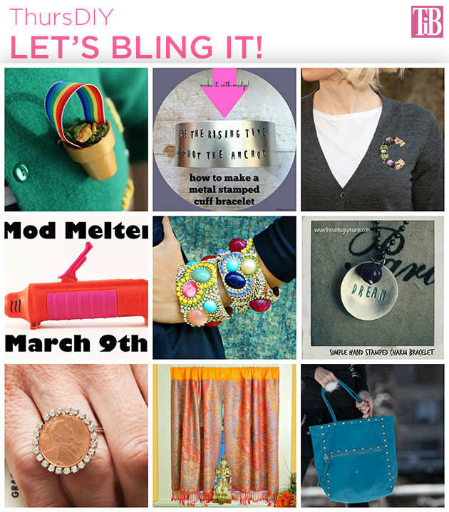 Let's Bling It! DIY Roundup on Trinkets in Bloom