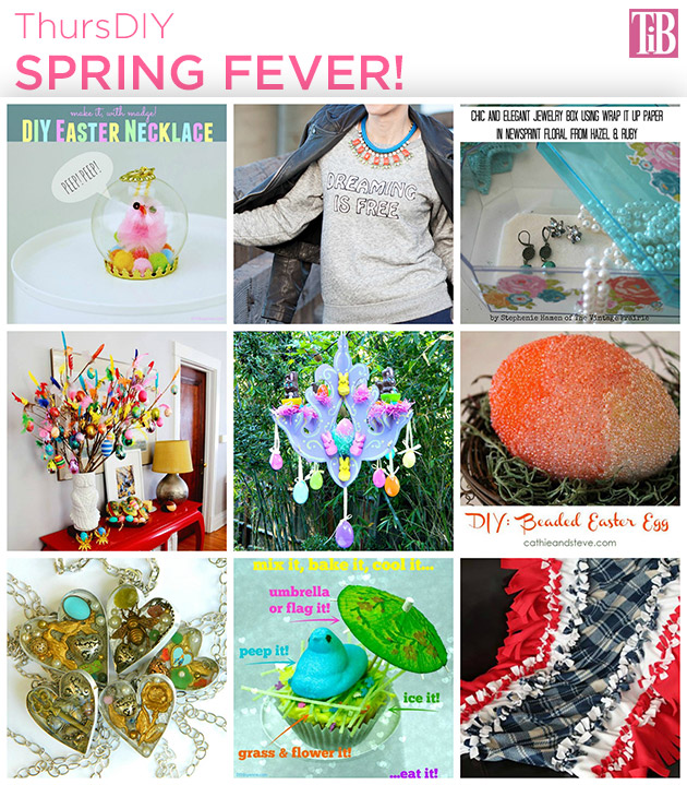 Spring Fever DIY Roundup by Trinkets in Bloom