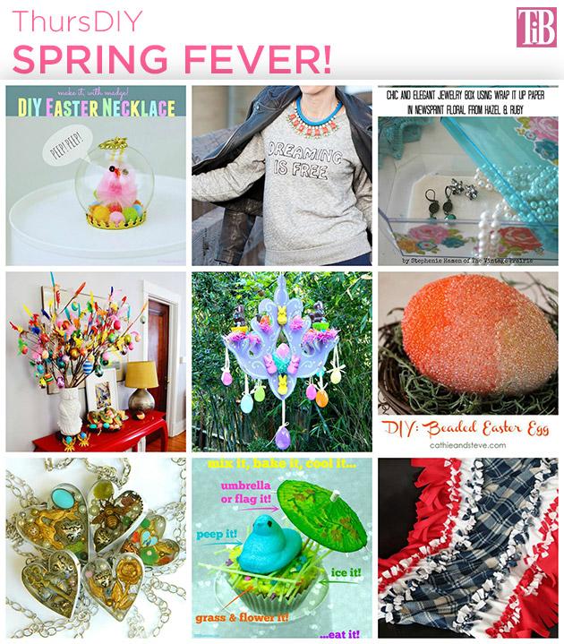 Spring Fever DIY Roundup by Trinkets in Bloom