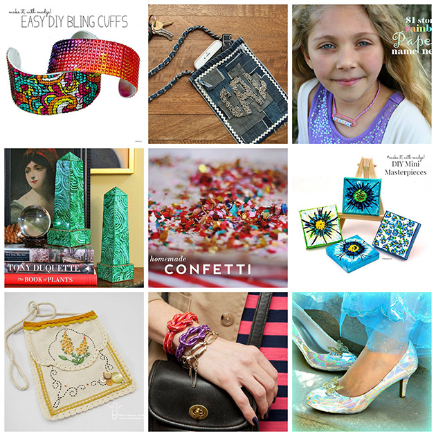 9 Colorful DIYs 630 a roundup by Trinkets in Bloom
