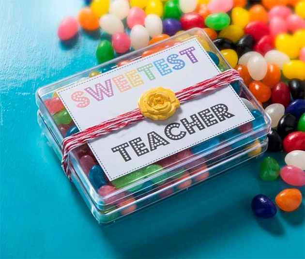 DIY Teacher Appreciation Gift by Cathie & Steve