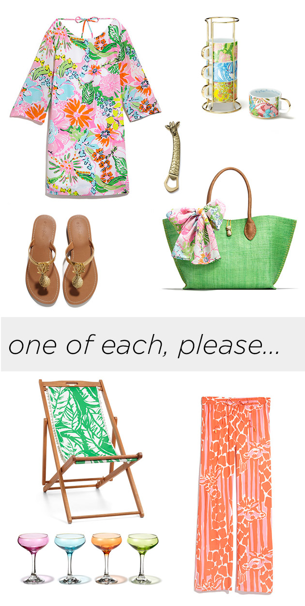 Lilly Pulitzer for Target feature on Trinkets in Bloom