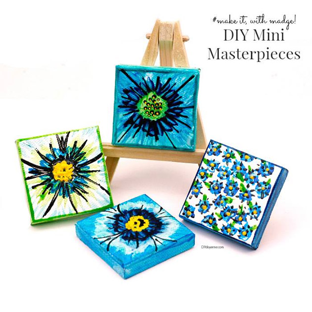 DIY Mini Masterpieces by Margot Potter