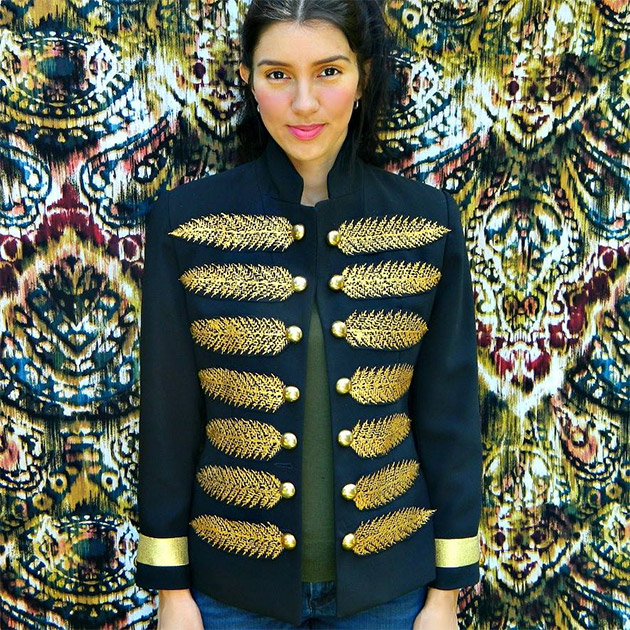 Couture Military Jacket by Mark Montano