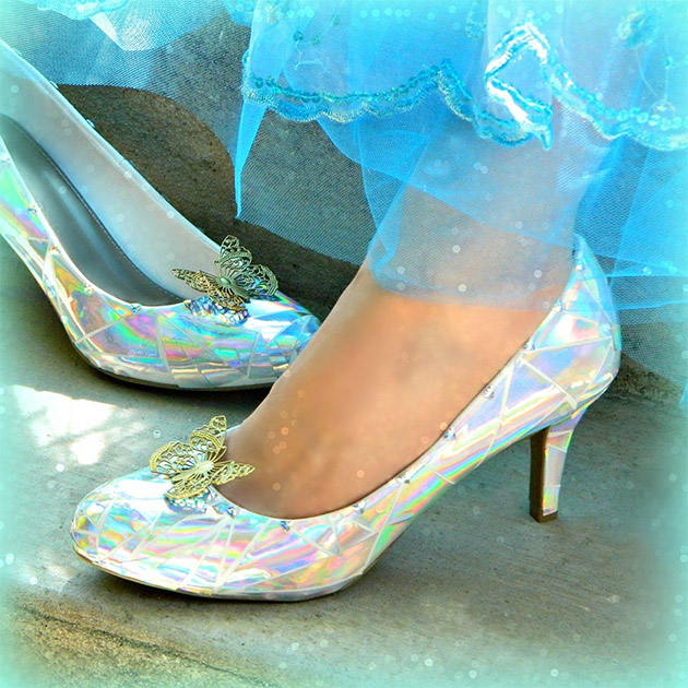 Cinderella Glass Slippers DIY by Mark Montano
