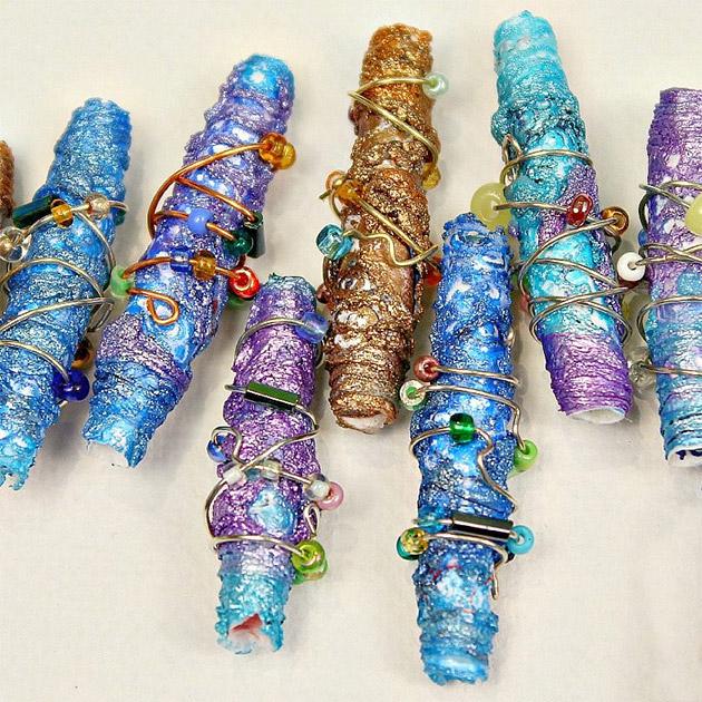 Metallic Beads DIY by Mark Montano