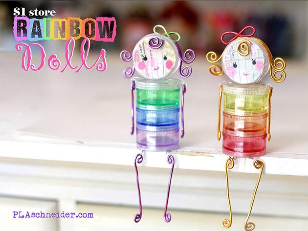 Rainbow Dolls by PLA Schneider