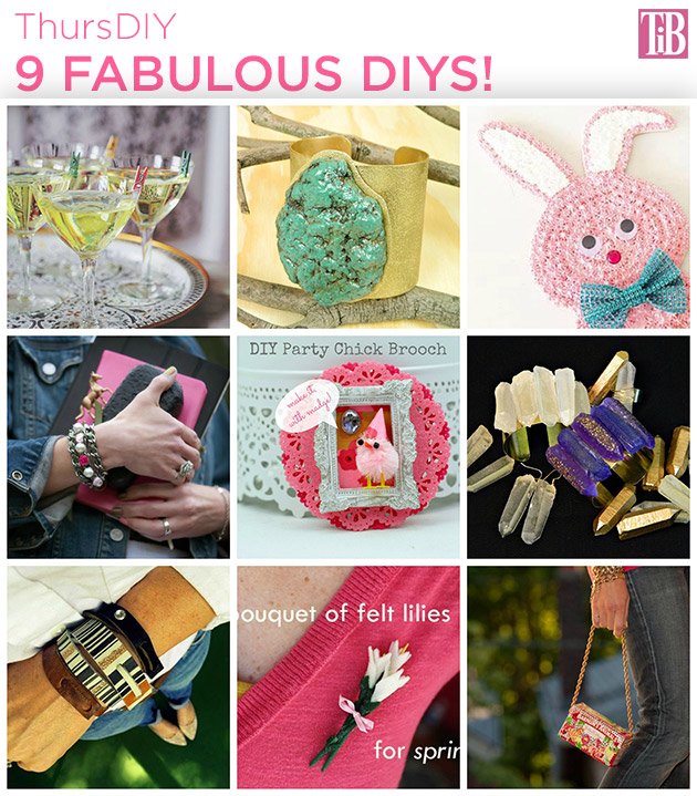 9 Fabulous DIYs a roundup by Trinkets in Bloom