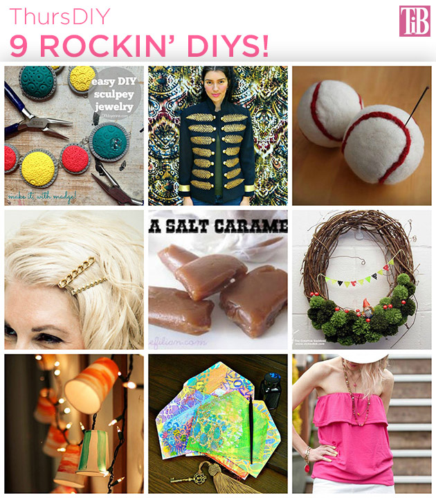 9 Rockin DIYS roundup by Trinkets in Bloom