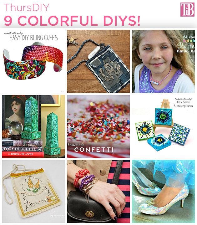 ThursDIY 9 Colorful DIYS Feature by Trinkets in Bloom