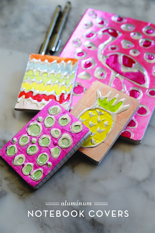 Aluminum Notebook Covers by Aunt Peaches