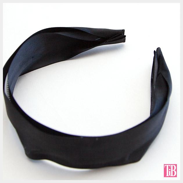 DIY Kentucky Derby Headband ribbon by Trinkets in Bloom