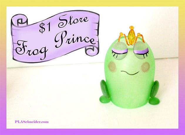 Dollar Store Frog Prince by PLA Schneider