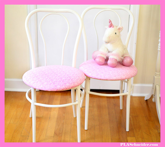 Upcycled Table and Chair Set Part One by PLA Schneider